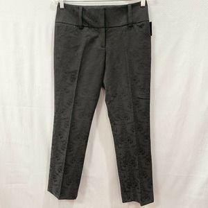 International Concepts INC Black Crop Dress Pants